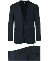 Burberry - Slim-fit Check Suit - Lyst
