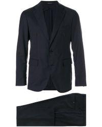 Tagliatore - Classic Fitted Suit - Lyst