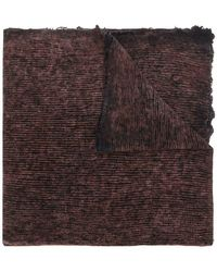 Avant Toi - Knitted Scarf - Lyst