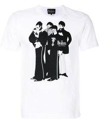 Comme des Garçons - Graphic Print T-shirt - Lyst