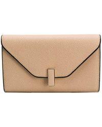 Valextra - Iside Envelope Shaped Wallet - Lyst