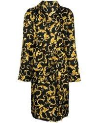 Versace - Printed Robe - Lyst