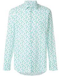 Prada - Mermaid Print Shirt - Lyst