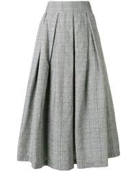 Department 5 - Checked Full Skirt - Lyst