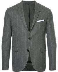 Neil Barrett - Pinstriped Suit Jacket - Lyst