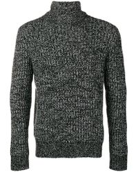 Theory - Patterned Ribbed Sweater - Lyst
