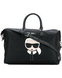 Karl Lagerfeld - Karlito Luggage Tote - Lyst
