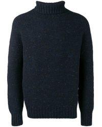 Drumohr - Roll Neck Knitted Jumper - Lyst