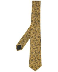 Versace - Medusa Print Tie - Lyst
