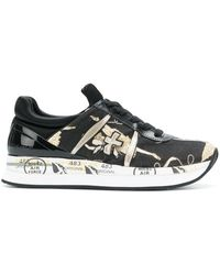Premiata - Chunky Sole Sneakers - Lyst
