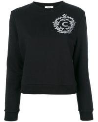 Carven - Sequin Appliqué Sweatshirt - Lyst