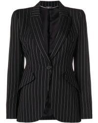 Alexander McQueen - Striped Print Jacket - Lyst
