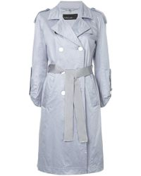 Marc Cain - Belted Trench Coat - Lyst