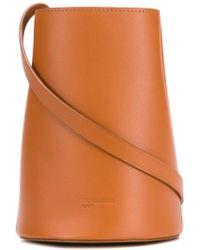 Jil Sander Navy - Bucket Crossbody Bag - Lyst