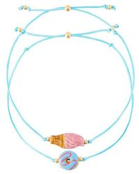 Venessa Arizaga - 'sweetest Thing' Bracelet Set - Lyst