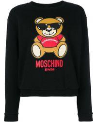Moschino   Ready To Bear Sweatshirt   Lyst
