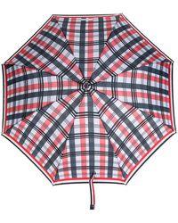 Thom Browne - Crooked Handle Striped Umbrella - Lyst
