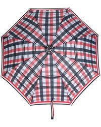 Thom Browne - Crooked Handle Striped Umbrella - Lyst