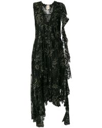 Erika Cavallini Semi Couture - Floral-lace Dress - Lyst