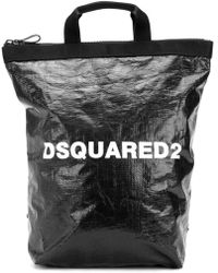 DSquared² - Logo Printed Backpack - Lyst
