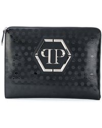 Philipp Plein - Skull Embossed Laptop Case - Lyst