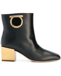 Ferragamo - Albiano Ankle Boots - Lyst