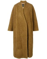 Erika Cavallini Semi Couture - Oversized Fit Coat - Lyst