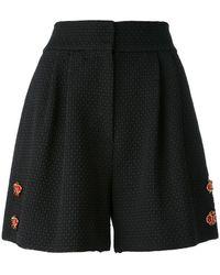 Dolce & Gabbana - Floral Embellished Shorts - Lyst