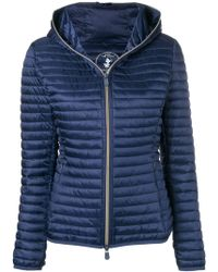 Save The Duck - Nylon Puffer Jacket - Lyst