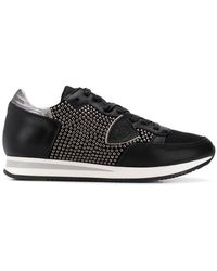 Philippe Model - Studded Tropez Sneakers - Lyst