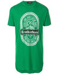 DSquared² | Brotherhood T-shirt | Lyst