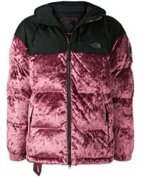 The North Face - Contrast Padded Jacket - Lyst