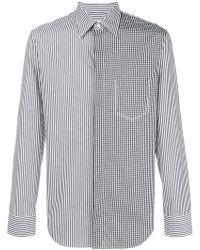 Maison Margiela - Contrast Patterned Shirt - Lyst
