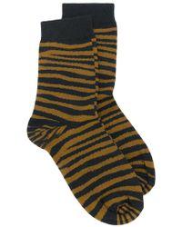 Stella McCartney - Tiger Printed Socks - Lyst