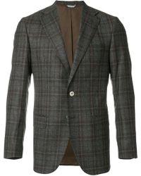 Fashion Clinic - Checked Blazer - Lyst