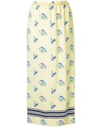 Markus Lupfer | Floral Print Skirt | Lyst