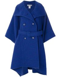 Issey Miyake - Belted Coat - Lyst