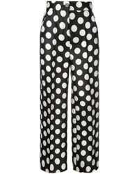 Dice Kayek - High-waisted Polka Dot Pants - Lyst