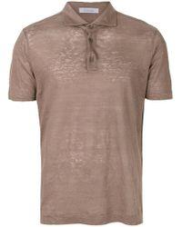 Cruciani - Button Polo Shirt - Lyst