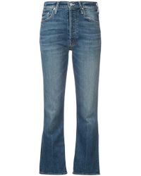 Mother - Tripper Cropped Jeans - Lyst