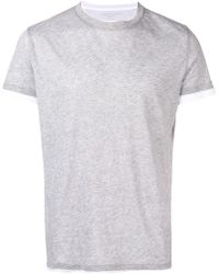 Majestic Filatures - Layered T-shirt - Lyst
