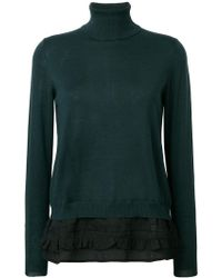 P.A.R.O.S.H. - Roll-neck Fitted Jumper - Lyst