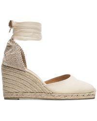 Castaner - Zapatos con cuña Carina 80 - Lyst