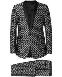 Dolce & Gabbana - Jacquard-Anzug - Lyst