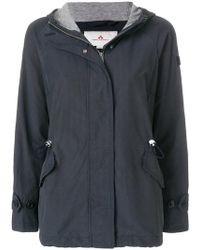 Peuterey - Hooded Coat - Lyst