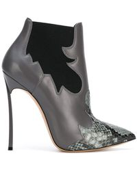 Casadei - Elasticated Side Panel Boots - Lyst