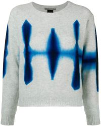 Suzusan - Cropped Tie-dye Sweater - Lyst