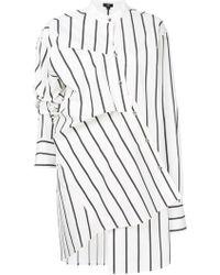 Ji Oh - Asymmetric Shirt Dress - Lyst