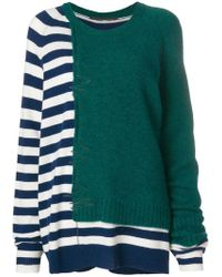 Haider Ackermann - Panelled Jumper - Lyst