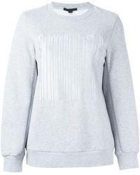 Alexander Wang - Welded Barcode Sweatshirt - Lyst